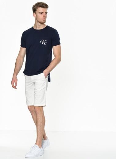 Calvin Klein Şort Beyaz